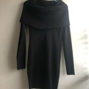*NWT* H&M Black Cowl Neck Sweater Dress